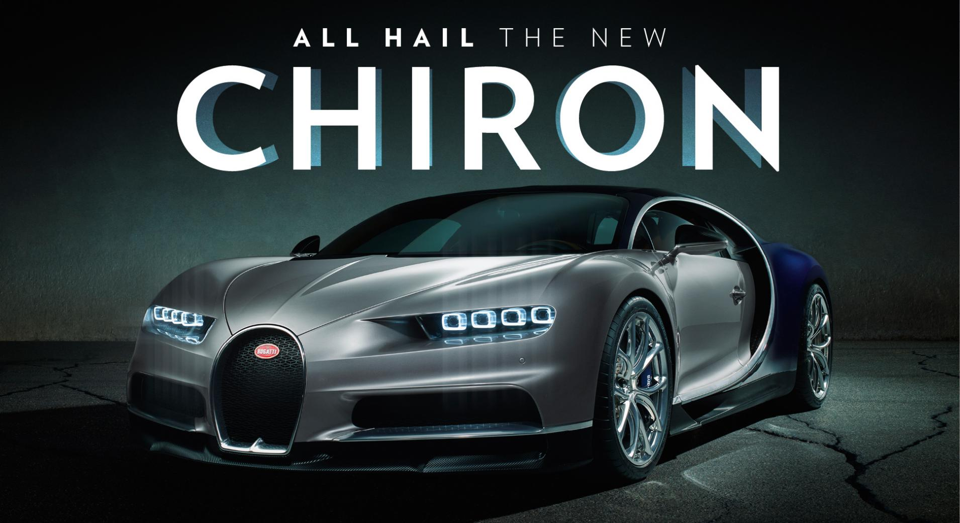 New Bugatti Chiron @ MVL Leasing Oakville Used Cars dealership